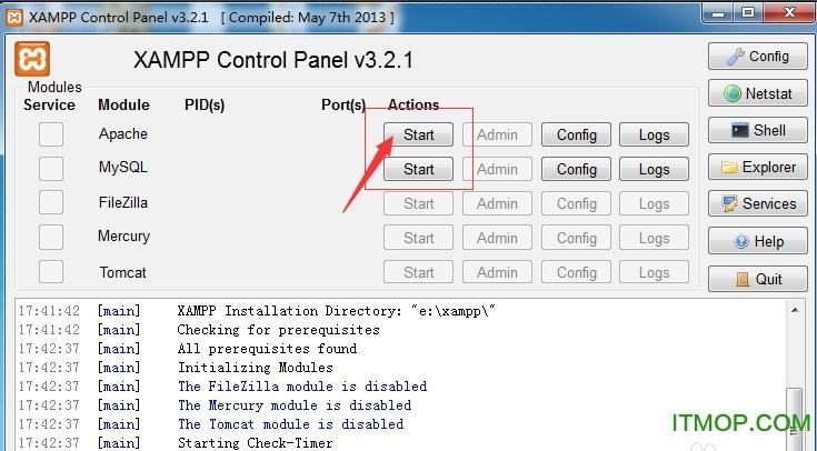 xampp软件安装包