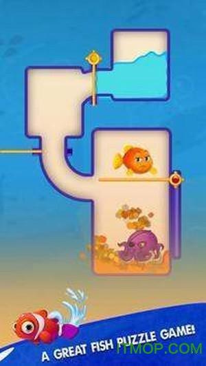 用水拯救小鱼游戏