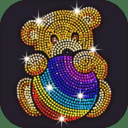 钻石涂涂乐:数字填色画画游戏v1.3.9 安卓版