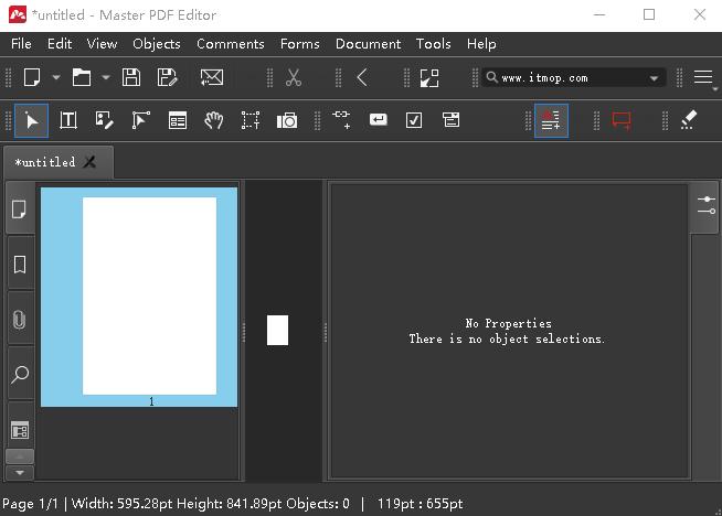 Master PDF Editor编辑器 v5.7.53 中文绿色便携版 0