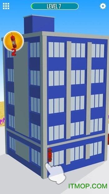 爆破建筑游戏
