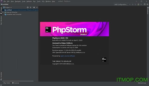 Jetbrains PhpStorm 2020 v2020.1 官方版 0