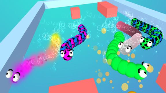 蠕虫迷宫游戏