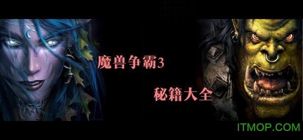 魔兽秘籍3冰封王座秘籍大全_魔兽争霸秘籍大