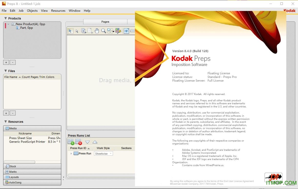 Kodak Preps v8.4.0(Build 128) 简体中文版 0
