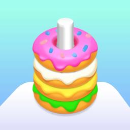 甜甜圈分类游戏