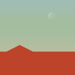 火星上的高尔夫球