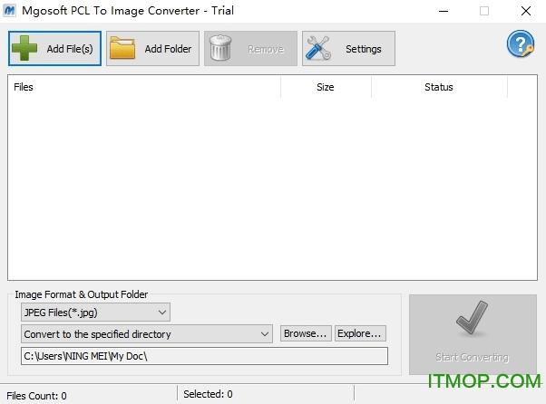 Mgosoft PCL To Image Converter v9.1.0 官方版 0