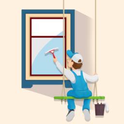 我擦窗户贼6(window washing)