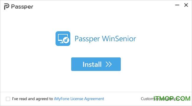 Windows密码恢复工具(Passper WinSenior) v3.0.0.1 官方版 0