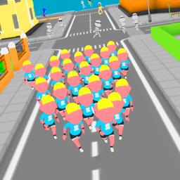 人群跑步3D中文版(Crowd Run3D)