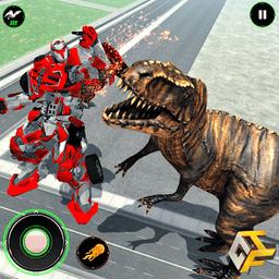 恐龙大战机器人
