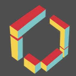 扁立方色(Flat CubeColor)