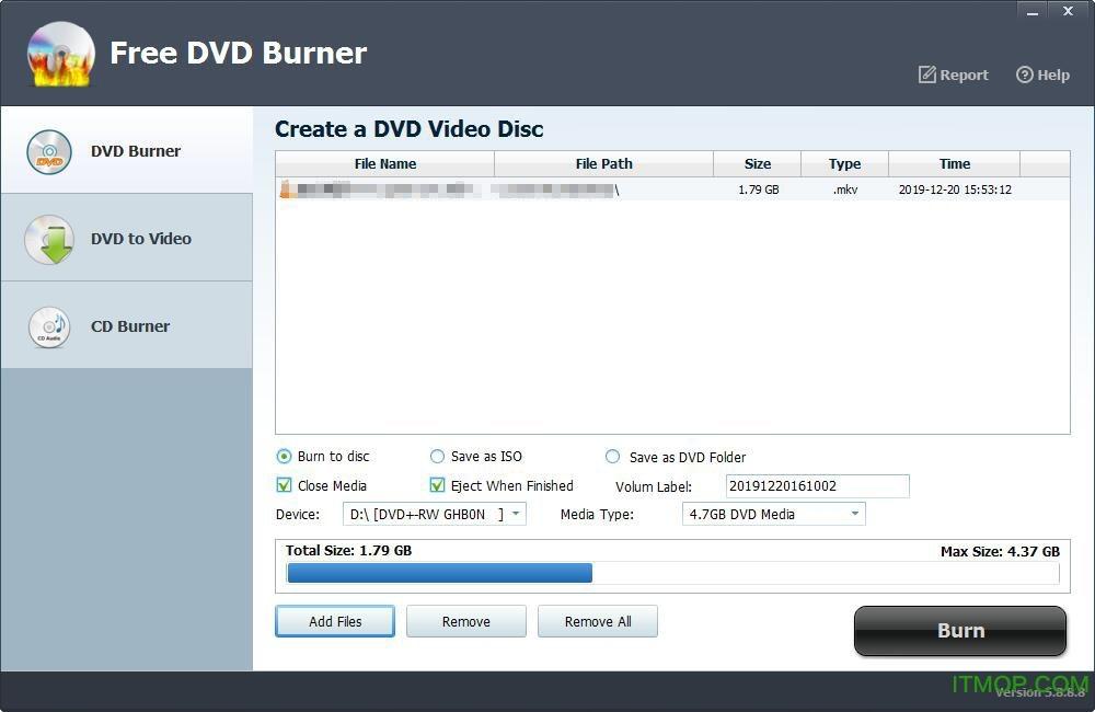 Free DVD Burner