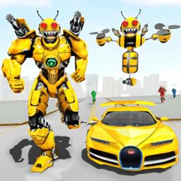 蜜蜂机器人汽车改造Bee Robot Car Transformation
