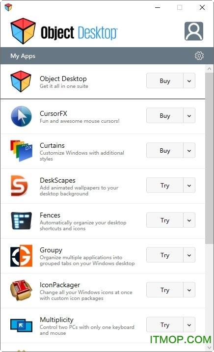 Object Desktop v4.01 官方版 0