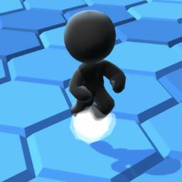 黑糖人六边形挑战游戏