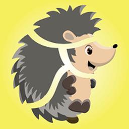 带动物拼图的ABC游戏