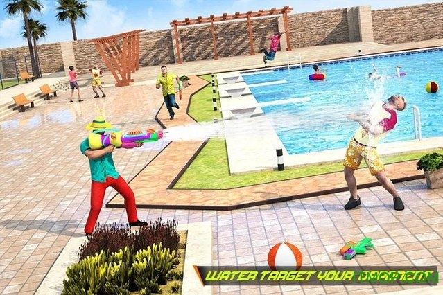 泳池射击游戏下载