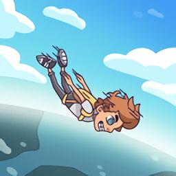 跳伞冒险手游