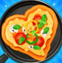 模拟披萨制作游戏