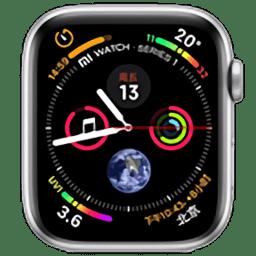 小米手表Applewatch图文表盘