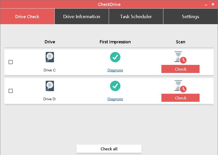 硬盘错误检测修复软件Abelssoft CheckDrive 2021 v3.03 安装版 0