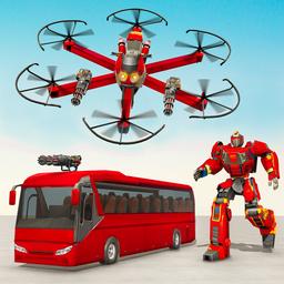巴士机器人汽车游戏3D