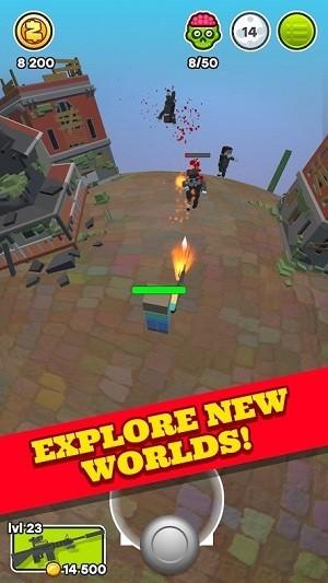 星球僵尸传送游戏最新版 v0.2 安卓版 0