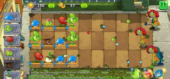 大战僵尸植物保卫战游戏