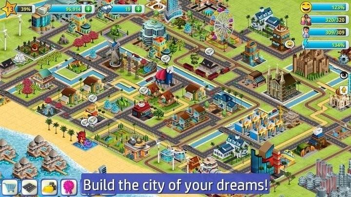 乡村城市模拟2游戏