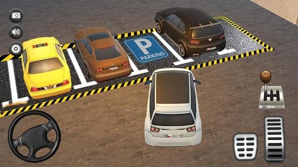 停车场真实模拟游戏