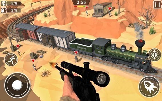 狂野西部狙击手边境游戏
