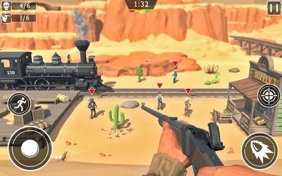 狂野西部狙击手边境中文版 v1.1.3 安卓版 2