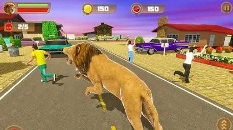 狮子模拟器城市复仇 v1.0 安卓版 0