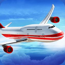 3D飞机飞行员模拟器