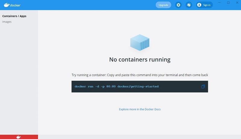 桌面开发环境Docker Desktop