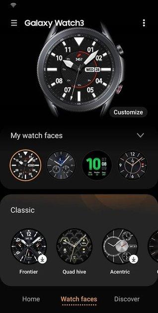 galaxy wearable app v2.2.43.21092861 安卓版 0