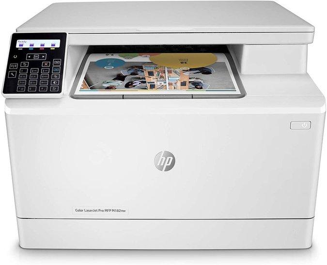 惠普HP Color LaserJet Pro MFP M182nw��影惭b