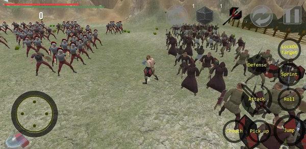 斯巴达克斯起义游戏