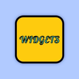 color widgets主题桌面小组件
