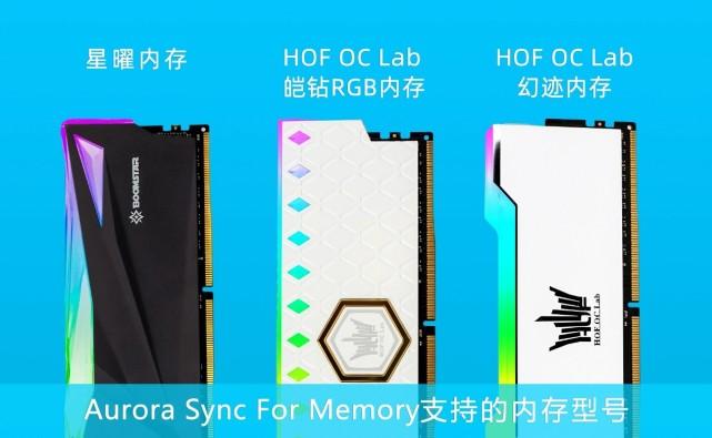 Aurora Sync for Motherboard影驰主板灯控软件安装