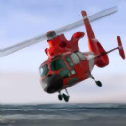 直升机模拟救援