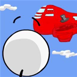 火柴人逃离飞艇游戏