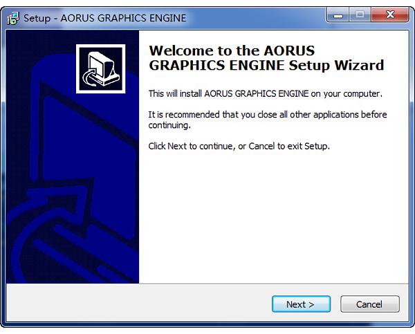 技嘉�@卡超�l工具AORUS Graphics Engine v1.29 官方版 0