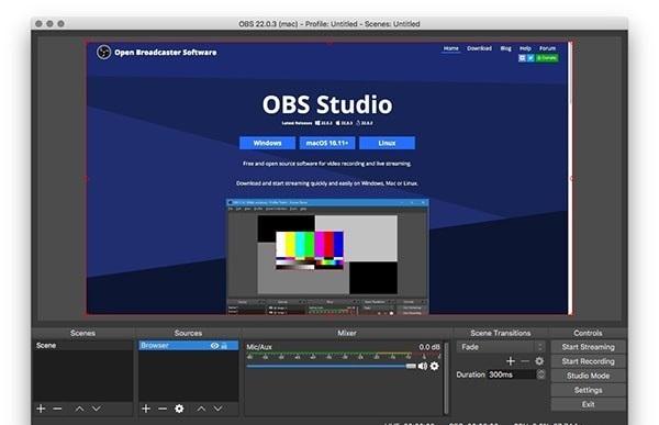 obs studio mac版