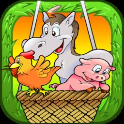 农场拼图小游戏