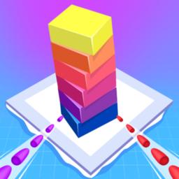 堆桥栈堆积木游戏