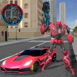 变身跑车机器人