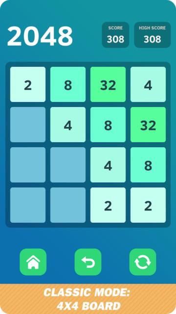 2048数字拼图游戏 v1.1 安卓版 0